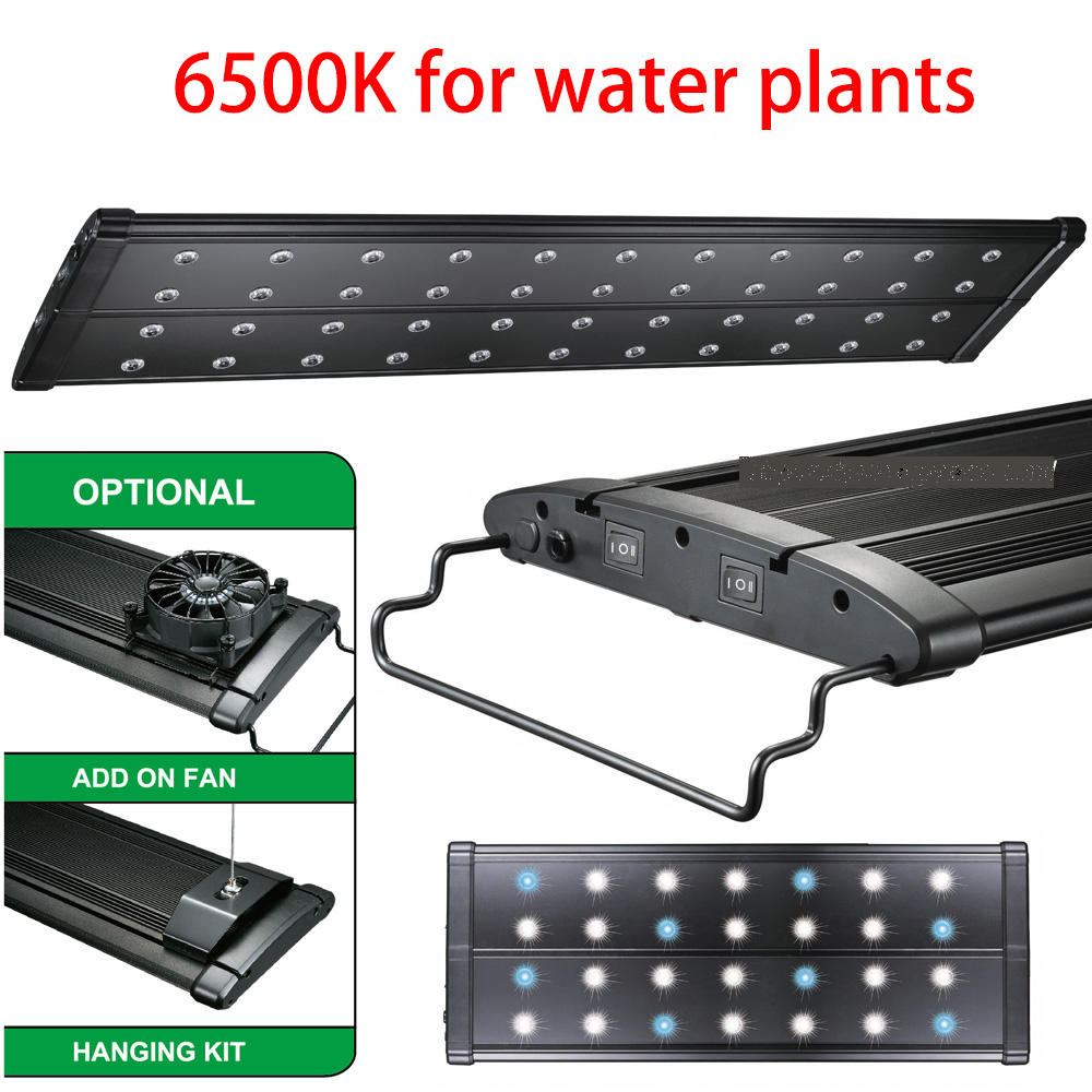 "Aquarium LED Light ODYSSEA BEAMSWORK Green Element 72"" 180CM EVO Quad 6500K Extensible Bracket Marine Coral Reef Cichlid 96x 3W(China (Mainland))"
