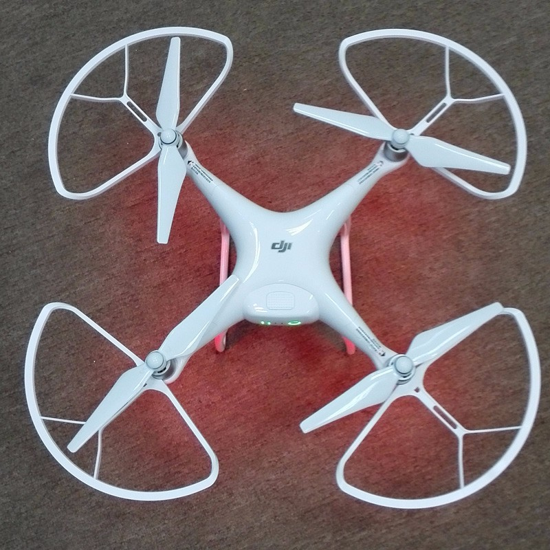 DJI Phantom 4 XYT New Technology accessories Propeller Guard/Protector won't affect the Phantom 4 Obstacle Sensing system