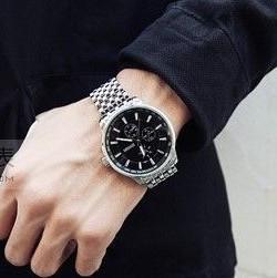 Promotion New Sinobi Luxury Brand Watches Men Quartz Men Full steel Watch Military Watches Male Clock Hours Free Shipping(China (Mainland))