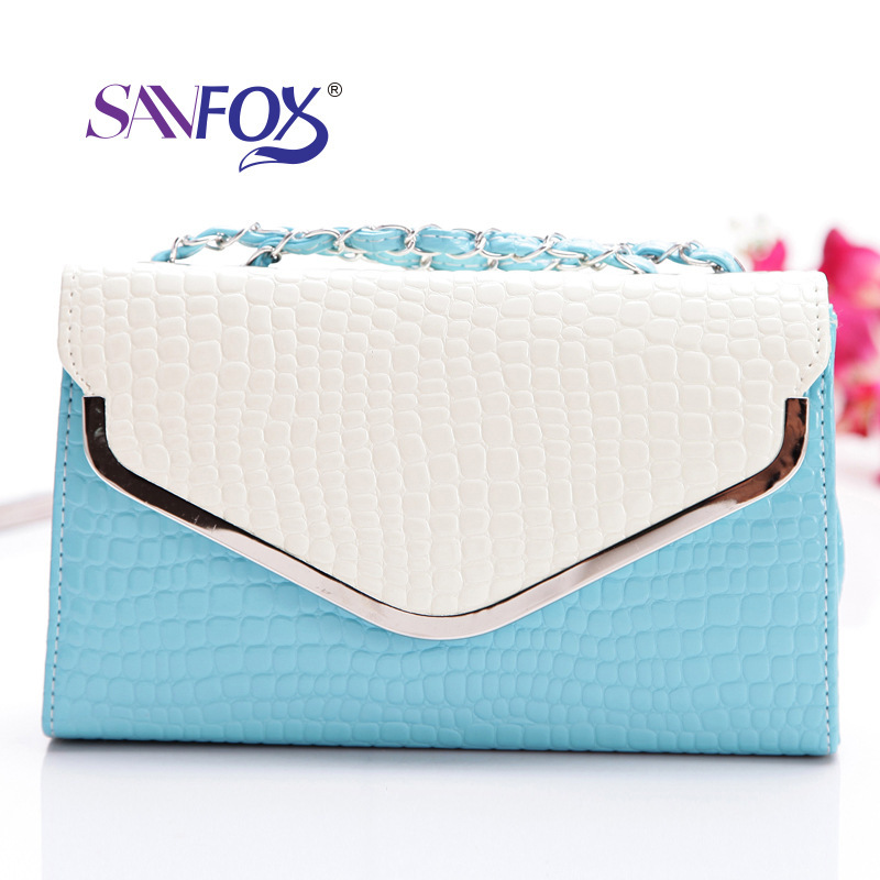 2014 new arrival women yes geometric pu & new must shoulder bag messenger casual fashion trendy handbags stereotypes(China (Mainland))