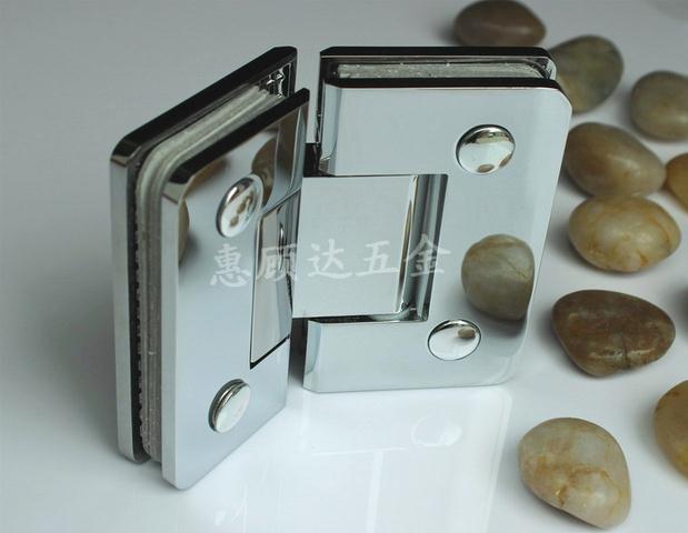 Hot Sale! Shower Room Glass Copper Hinge Glass Door Hinge 135 Degress Glass Hinge Shower Room Glass Door Hinge(China (Mainland))