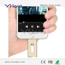 Newest!!!  8G 16G 32G 64G mobile USB Flash Drive usb Stick Pen drive for iphone ipad itouch, external storage usb memory stick
