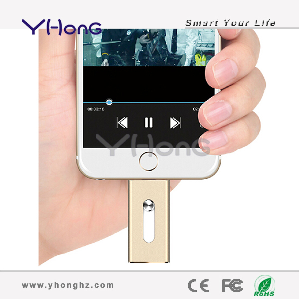 Newest!!! 8G 16G 32G 64G mobile USB Flash Drive usb Stick Pen drive for iphone ipad itouch, external storage usb memory stick(China (Mainland))