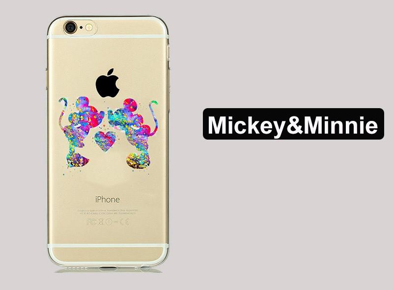 ᗗcute Lovely Cartoon ᐂ Minnie Minnie Mickey Mouse Case