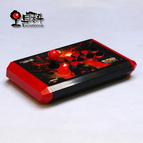 Red Arkuma Small Case All Sanwa Original 3 in 1 Platform USB fight stick arcade stick Street fighter King of fighter(China (Mainland))