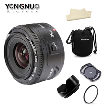 Buy Ready Stock! Original YONGNUO 35mm f2 Lens YN35mm Large Aperture Auto Focus Lens Canon EOS 5D Mark III 450D 60D 7DII 6D for $89.37 in AliExpress store