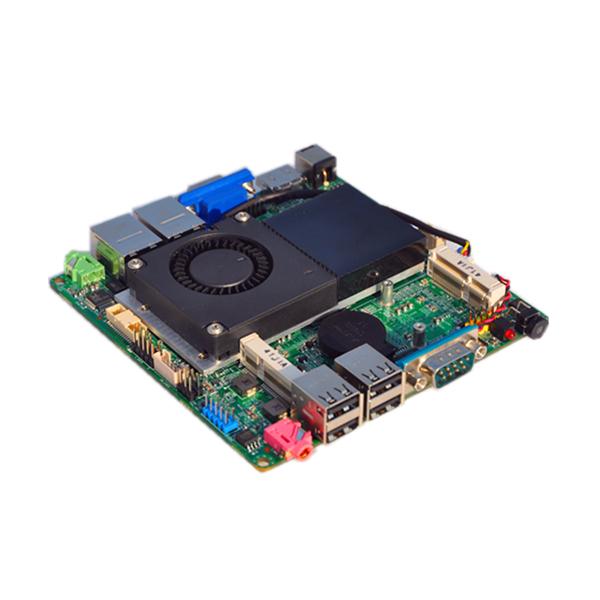 12*12CM QOTOM Nano Itx Motherboard Q1037US with Celeron Processor 1037u Onboard, Dual core 1.8Ghz, Dual lan port(China (Mainland))