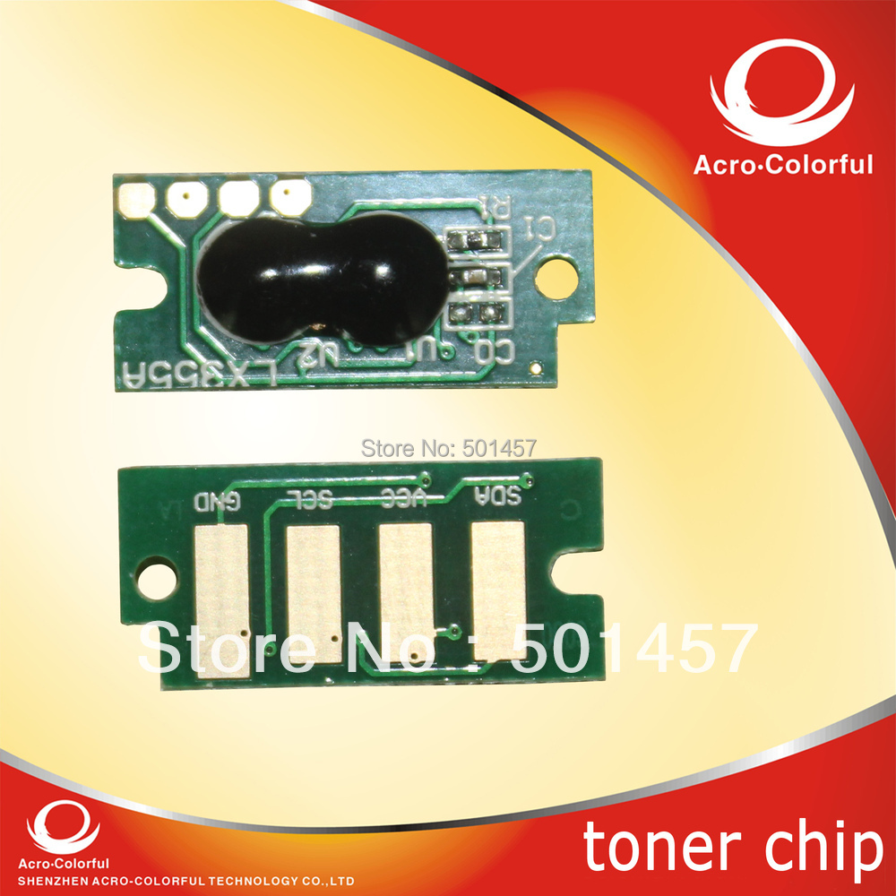 Compatible phaser 6000 6010 color laser printer spare parts reset for Xerox 6000 toner cartridge chip(China (Mainland))