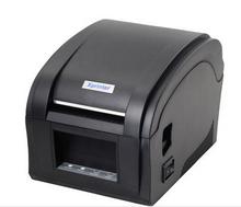 XP-360B label barcode printer thermal label/receipt printer 20mm to 80mm thermal barcode printer for supermarket(Hong Kong)