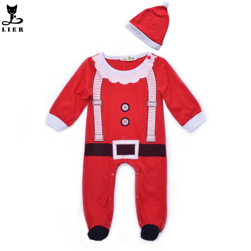 Baby christmas costume girl boy romper newborn