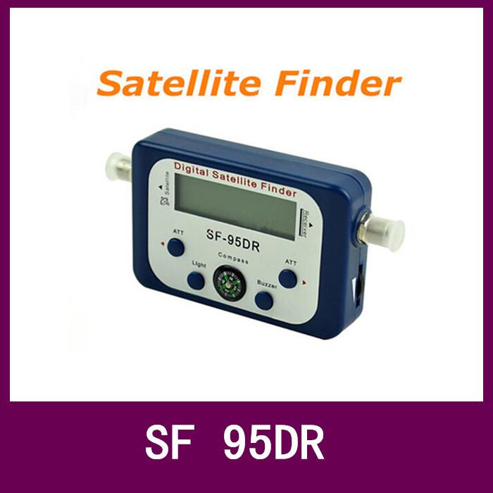 Free Shipping Digital Satellite Finder Alignment Signal Satfinder Find Meter LNB Dish Network Satellite Dish #12 TK0721(China (Mainland))