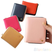 New Fashion Women Card Coin MONEY holder Wallet PU Leather HANDBAG Clutch Purse Bag
