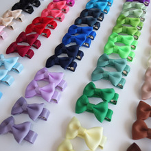 Buy Cute! 40 PCS Wholesale Baby Hair bow Hair clips Boutique Infant Baby Toddler Girl Hair bow Barrettes Hairpins Hair accessories for $13.50 in AliExpress store