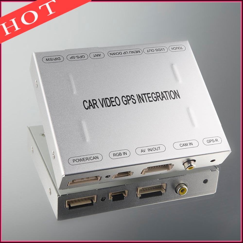 Car Interface Video Car Reverse Module Integration For A B C E ML GLK GL Series Mercedes(China (Mainland))