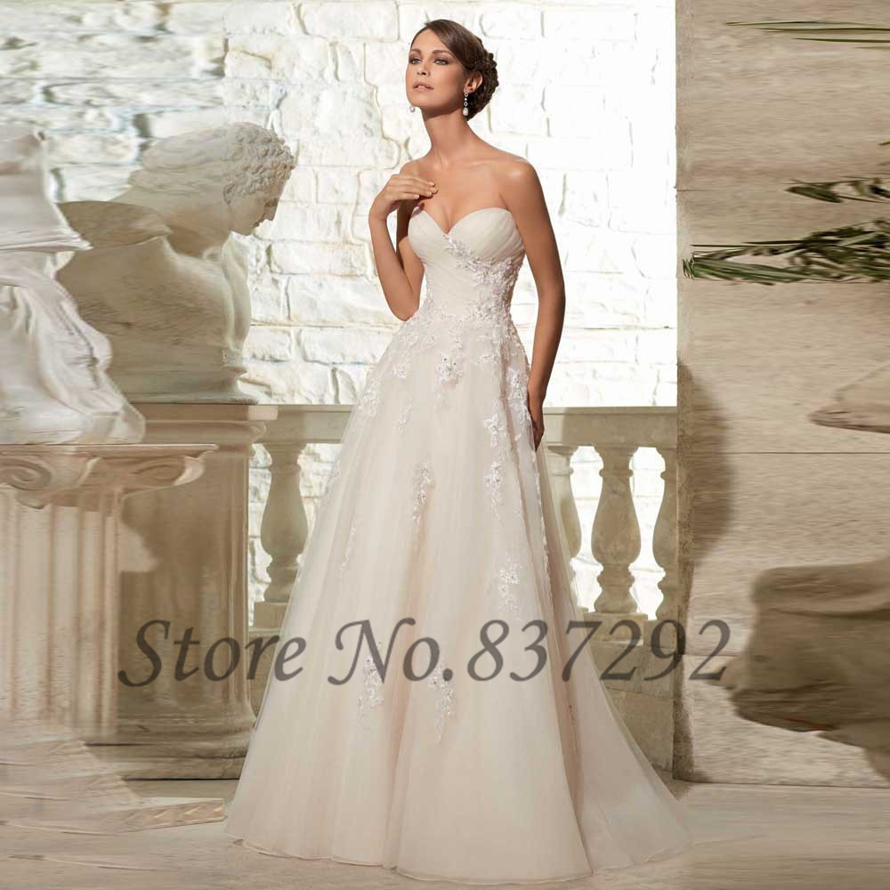 Simple china cheap wedding dresses vestido de noiva 2016 a for Wedding dresses in china
