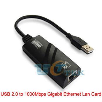 External USB 2.0 to J45 1G Gigabit Ethernet Network Lan Card Adapter 10/100/1000Mbps Singapore Post