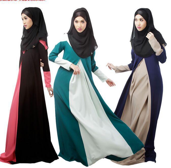 store product Muslim abaya maxi dress Islamic Garments dresses dubai clothing kaftan Dress turkish