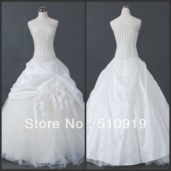Free shipping luxury expensive pearls beaded pattern pleat for Wedding dress beading patterns