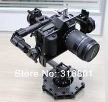 DSLR 3-Axis Brushless Aerial Gimbal/Stablizer w/ controller&motor for DSLR 5D mkiii, GH3, BMCC FPV