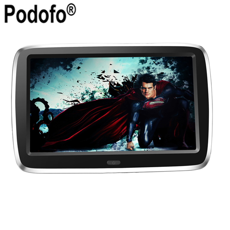 Ultra-thin 9 inch high-definition Display MP5 Car Headrest TV Monitor USB KTV Music DVD Player(China (Mainland))