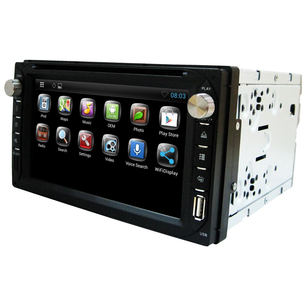 US stock 2 din car radio stereo Car DVD player Android 4.2 GPS Bluetooth Touch Screen GPS Navigation Antenna freeback up camera(China (Mainland))