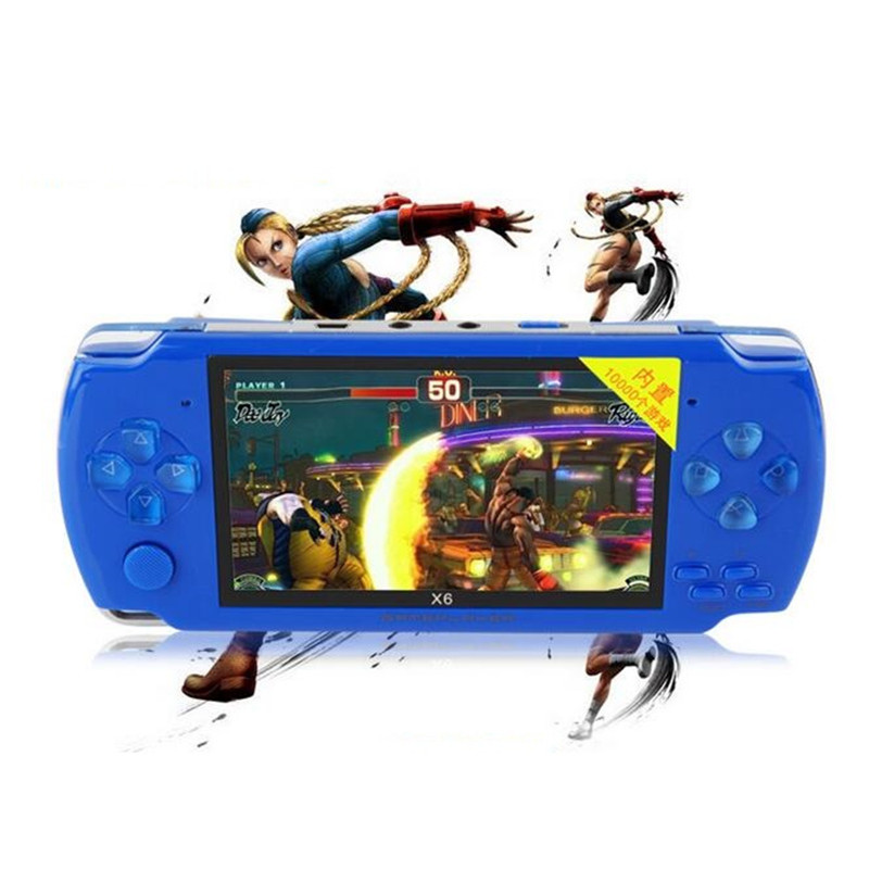 Game Players 8GB 4.3 inch MP4 player Video Game Console Free 1000 ...