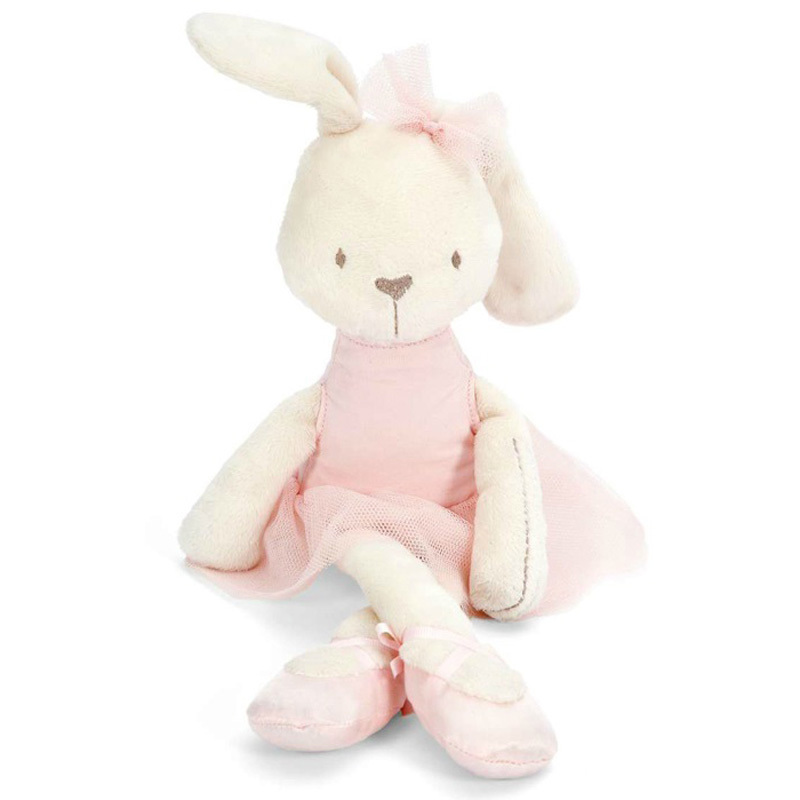One-Shot - As Cores do Inverno 35cm-Soft-Baby-Toy-font-b-Pink-b-font-Bunny-Mobile-Soothe-Doll-font-b-Stuffed