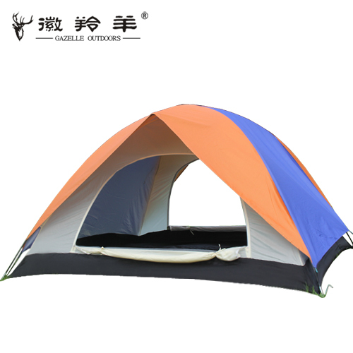 Emblem antelope outdoor tent 3-4 bunk camping casual family camping tents UV ventilation<br>