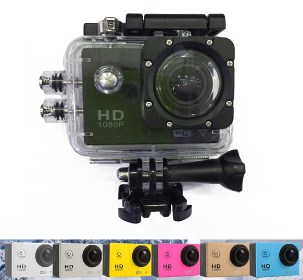 Wifi Sport Action Vedio Camera Helmet Professional Mini Camcorder Diving 30M Waterproof 1080P Full HD For Outdoor Extreme Sports(China (Mainland))