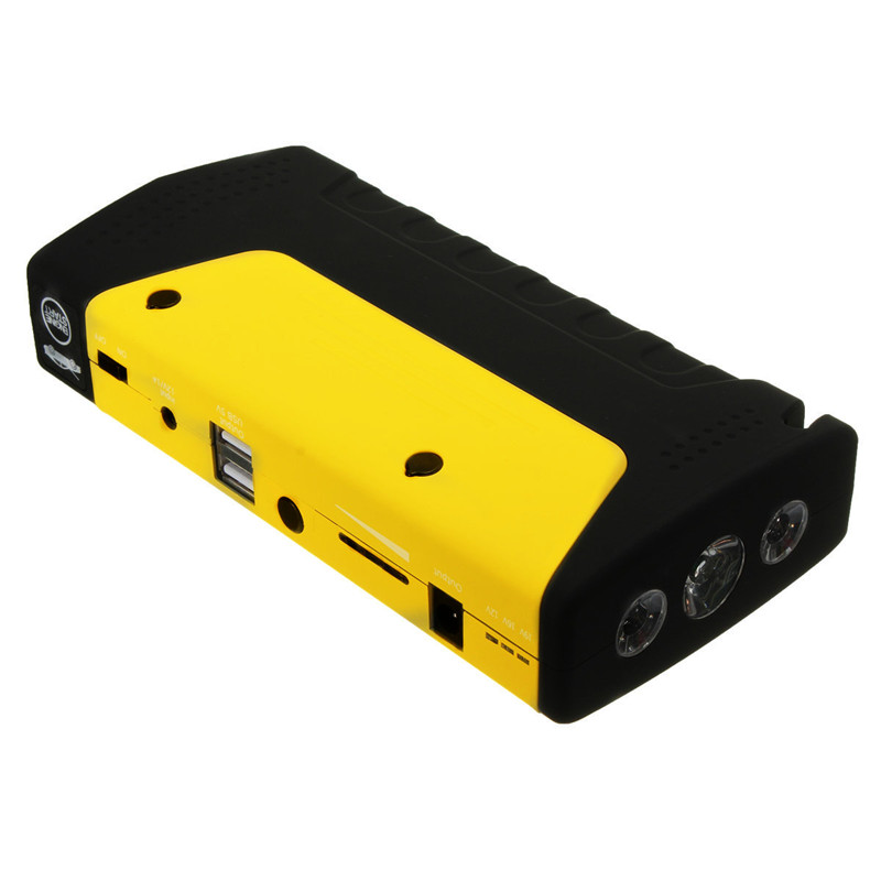 Фотография (16800)50800MAH  Car Jump Starter car battery Car Safety Jump Starter Mobile Portable Dual-USB Charge Auto emergency power bank