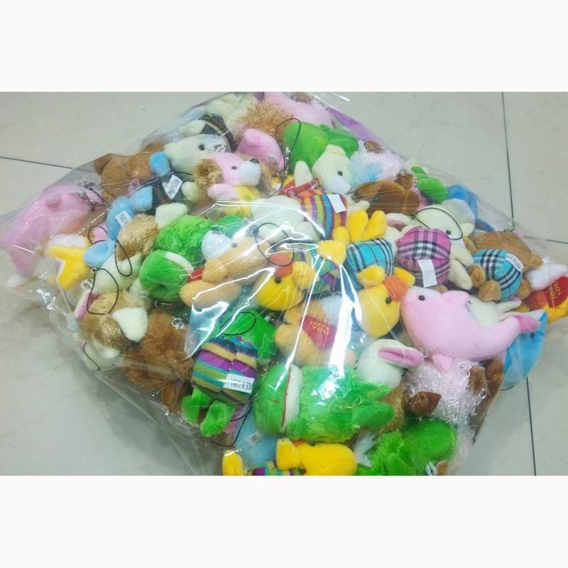 Multi-size small plush animals mixed package 2