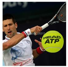1 Barrel Origenal 100% HEAD competition tennis ball head ATP tennis ball Gold packing free shipping(China (Mainland))