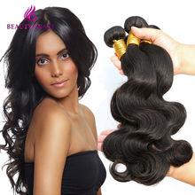 Brazillian Virgin Hair Body Wave Beauty Grace Hair Products Cheap 6a Brazilian Virgin Hair Body Wave 3 Bundles Human Hair Weave(China (Mainland))