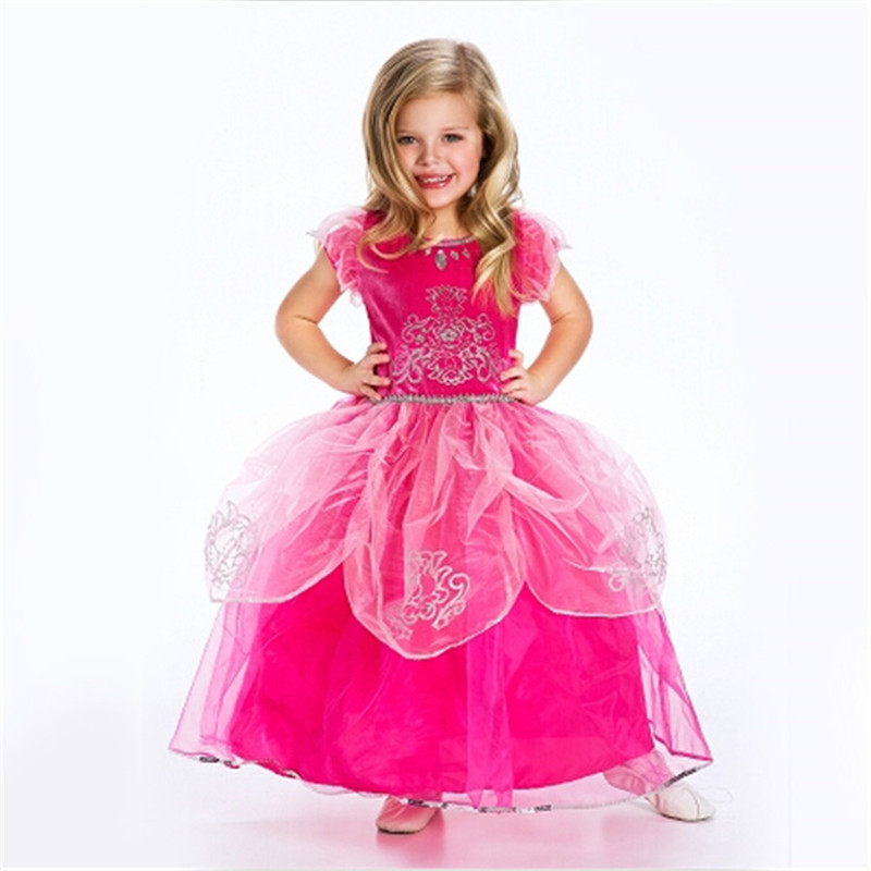 Hot retail tutu dress princess vestido party dress New Design costume children clothes baby girls ball grown dress Big Promotion(China (Mainland))