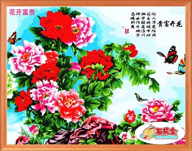 Digital painting DIY digital painting oil painting  standard 60 *75cm