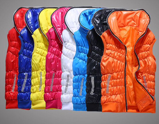 Sports new Winter vests women fashion cotton warm jackets female 2014 girls - Two one store