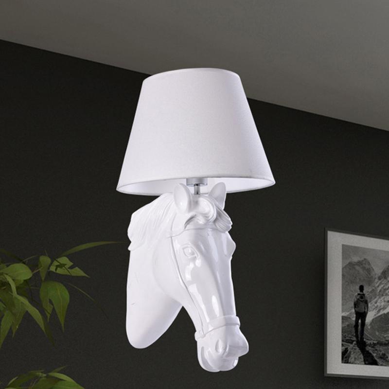Commentaires tissu applique faire des achats en ligne for Lampe de chevet cheval