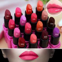 1pc Moisturizer Long Lasting Waterproof Matte Lipstick Nude Lip Stick lipgloss Lip Balm M01315