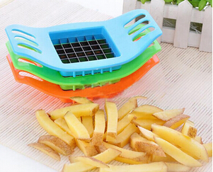 2pcs Vegetable Tools Stainless Steel Cutter Potato Chip Vegetable Slicer Potato Cooking Tools AF006-2(China (Mainland))