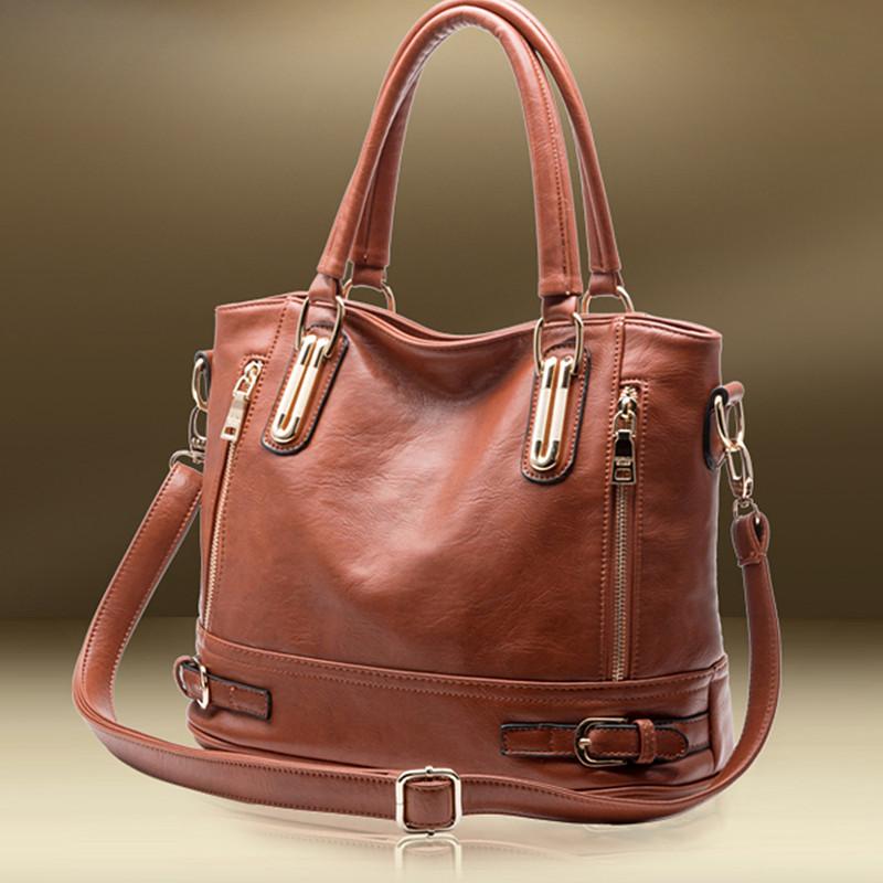New Arrival Fashion Brand Composite Genuine Leather Handbag Women Vintage  Tote Cow Shoulder Messenger Bag Lady Clutch Tote Bolsa  178095b18a