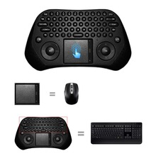2.4G RF wireless 30m distance Measy GP800 USB Wireless Touchpad Air Mouse for Gaming Keyboard Android PC Smart TV teclado gamer(China (Mainland))