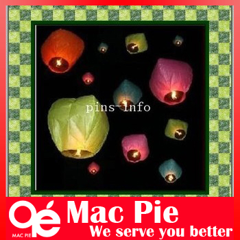 25PCS Chinese Fire Sky Lanterns Wishing Balloon Birthday Wedding Christmas Party Lamp + FREE SHIPPING(China (Mainland))