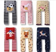 Children Kids PP Pants Long Trousers Cartoon Legging Cotton Baby Boys Girls Pants Free Shipping