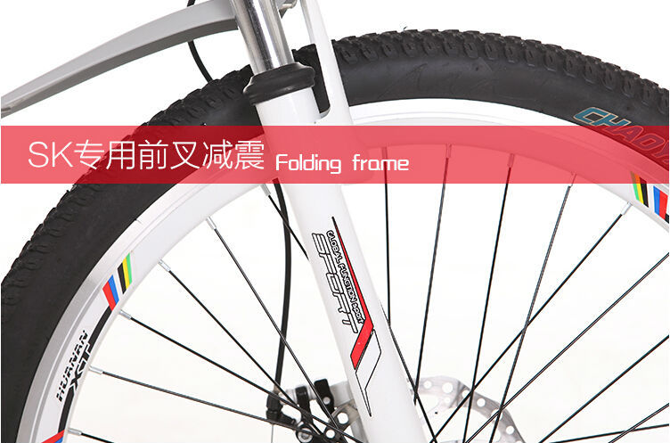 48V electric vehicles bike 26 inch bicycle 10A lithium battery folding bikes have shock absorbing frame