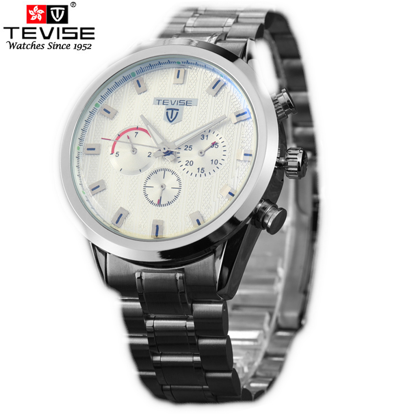TEVISE Brand Mens Business Watch Automatic Mechanical Classic Calendar  numerals dial Watches Relogio masculino<br><br>Aliexpress