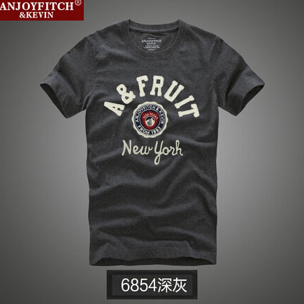 Summer basketball t shirt famous brand abercr for ombie mens beach sports hollistic masculino fitch bermuda tees&tops men T34403(China (Mainland))