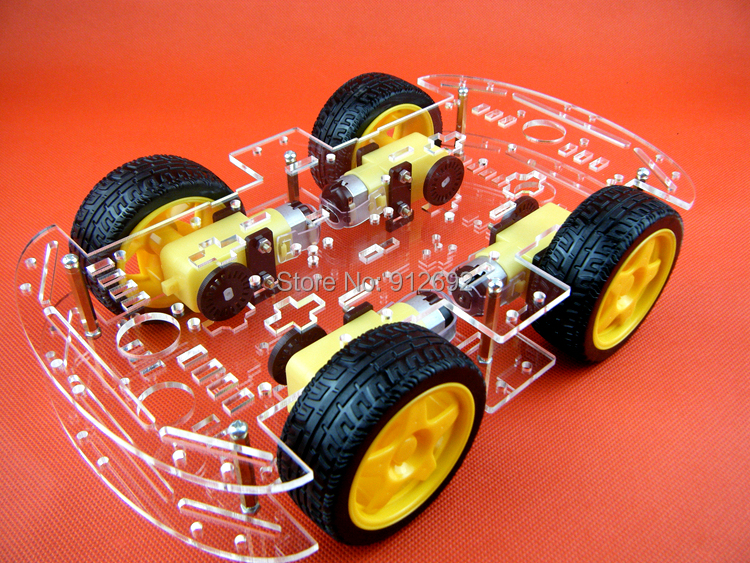 Online buy wholesale arduino robot chassis from china