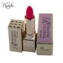 Hannaier Brand Makeup 8 Colours Long-Lasting Waterproof Matte Lipsticks Red Lip Stick Balm Moisturizing Lipgloss Cosmetic 3.8g(China (Mainland))