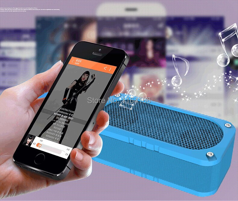 Mini Portable Waterproof Shockproof Wireless Bluetooth Speaker For ipod iphone Shower Outdoor MP3 player(China (Mainland))