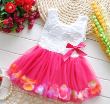(1pieces/lot) 100% cotton 2015 new flower soft baby dress 01(China (Mainland))